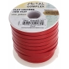 Flat Leather 5X2mm (10m Spool) Red